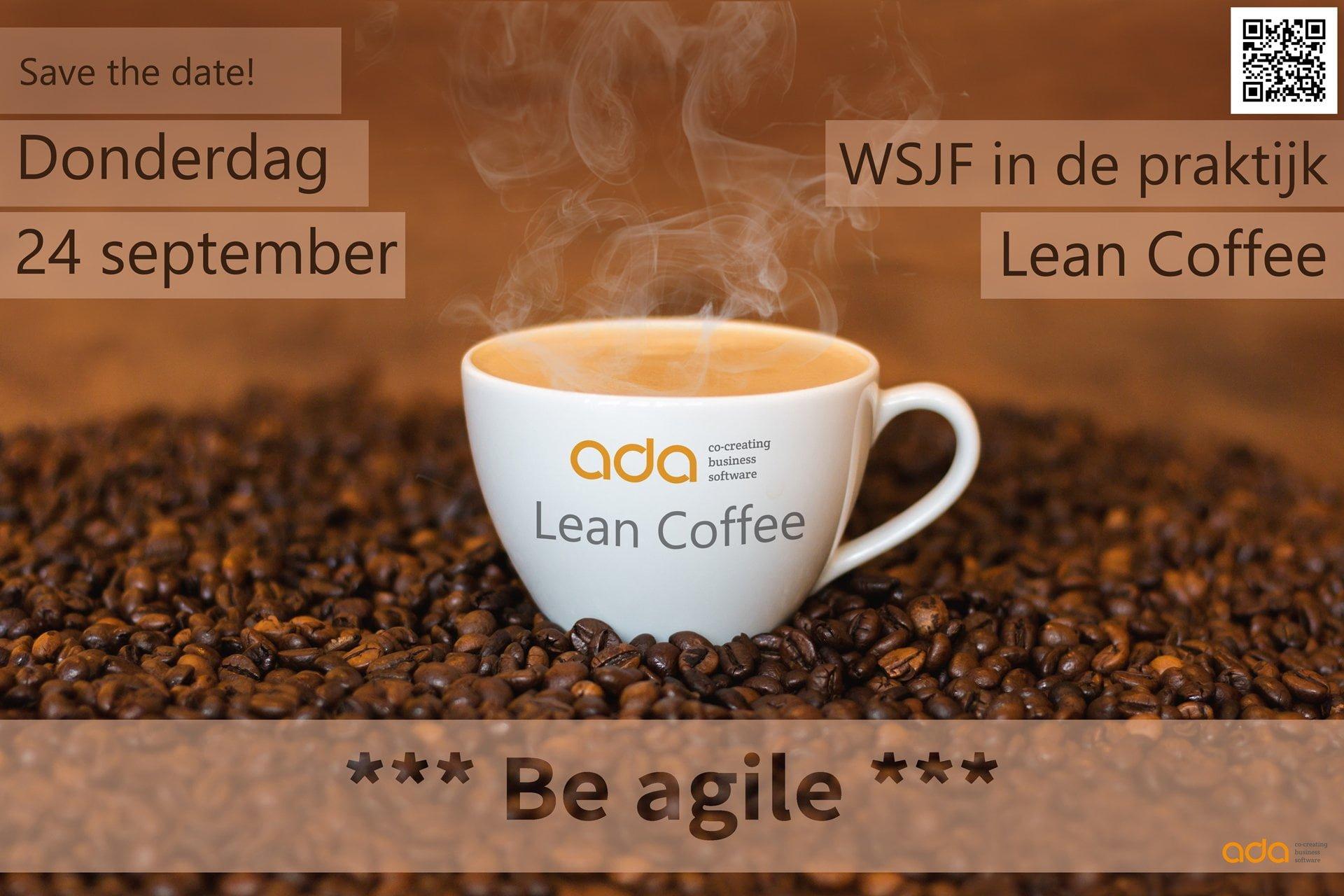 Aanmelden WSJF-presentatie en lean-coffee
